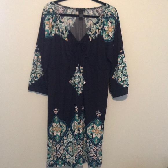 INC International Concepts Dresses & Skirts - Great easy wear stylish dress!